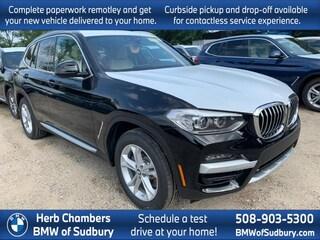 New 2020 BMW X3 xDrive30i SAV Sudbury, MA