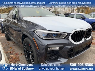 New 2021 BMW X6 M50i Sports Activity Coupe Sudbury, MA