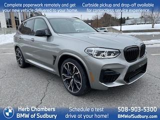 New 2021 BMW X3 M Competition SAV Sudbury, MA