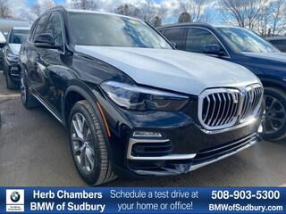 New 2020 BMW X5 xDrive40i SAV Sudbury, MA