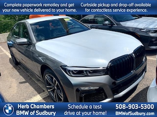 New 2021 BMW 740i xDrive Sedan Sudbury, MA