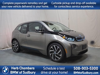 Certified Pre-Owned 2017 BMW i3 with Range Extender Hatchback Sudbury, MA