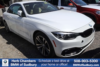 New 2020 BMW 430i xDrive Convertible Sudbury, MA