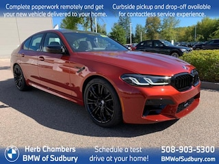 New 2021 BMW M5 Competition Sedan Sudbury, MA