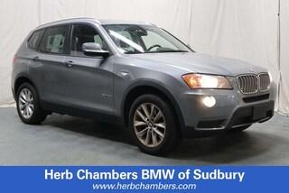 Pre-Owned 2013 BMW X3 xDrive28i AWD SAV Sudbury, MA