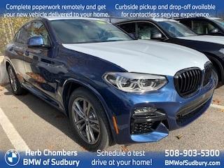 New 2021 BMW X4 M40i Sports Activity Coupe Sudbury, MA