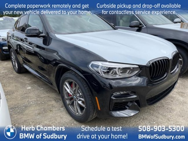 New 2021 BMW X4 M40i Sports Activity Coupe in Boston