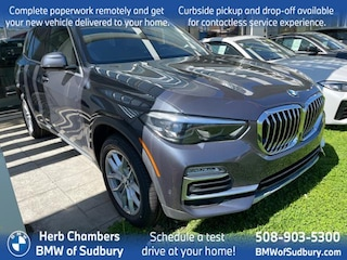 New 2021 BMW X5 xDrive40i SAV Sudbury, MA