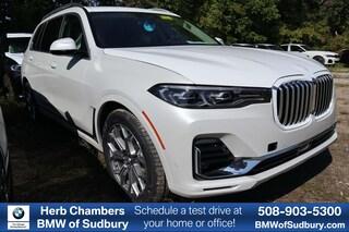New 2020 BMW X7 xDrive40i Sport Utility Sudbury, MA