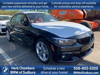 New 2020 BMW 430i xDrive Convertible Sudbury, MA