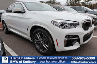 New 2020 BMW X4 M40i Sports Activity Coupe Sudbury, MA