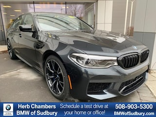 New 2020 BMW M5 Competition Sedan Sudbury, MA