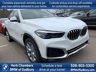 New 2020 BMW X6 xDrive40i Sports Activity Coupe Sudbury, MA