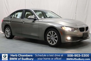 Certified Pre-Owned 2016 BMW 320i xDrive AWD Sedan Sudbury, MA
