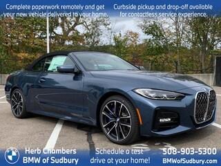 New 2022 BMW 430i xDrive Convertible Sudbury, MA