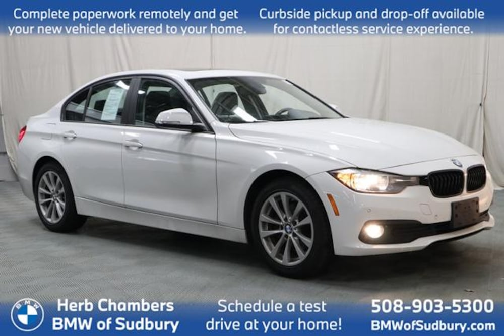 Certified 2017 BMW 320i xDrive Sedan Sudbury, MA