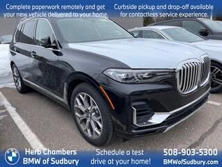 New 2021 BMW X7 xDrive40i SAV Sudbury, MA