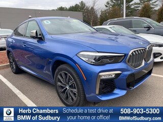 New 2020 BMW X6 M50i Sports Activity Coupe Sudbury, MA