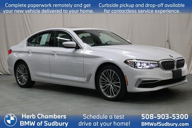 Pre Owned 2020 Bmw 530i For Sale At Herb Chambers Bmw Of Sudbury Vin Wbajr7c02lww66399