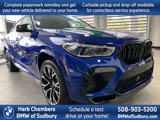 New 2020 BMW X6 M Competition Sports Activity Coupe Sudbury, MA