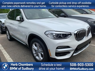 New 2020 BMW X3 xDrive30i SAV Sudbury, MA