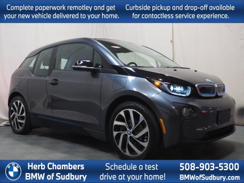 Pre-Owned 2017 BMW i3 with Range Extender Hatchback Sudbury, MA