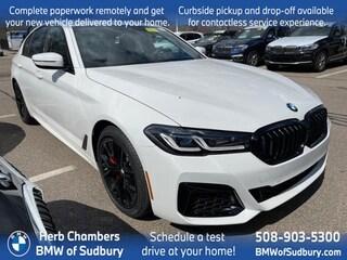 New 2021 BMW 540i xDrive Sedan Sudbury, MA