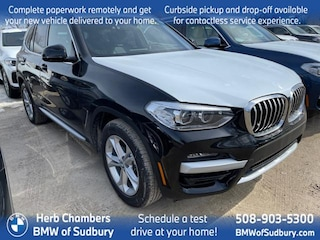New 2021 BMW X3 xDrive30i SAV Sudbury, MA