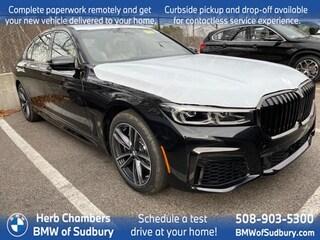 New 2021 BMW 750i xDrive Sedan Sudbury, MA