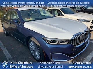 New 2021 BMW 740i xDrive Sedan Sudbury, MA