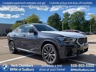 New 2022 BMW X6 M50i Sports Activity Coupe Sudbury, MA