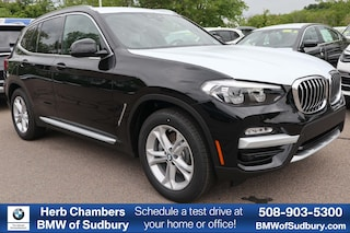 New 2019 BMW X3 xDrive30i SAV Sudbury, MA