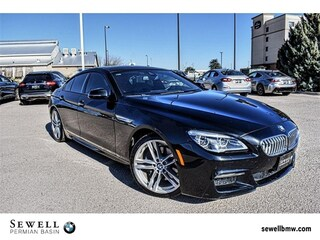 2016 BMW 6 Series 650i Gran Coupe Sedan