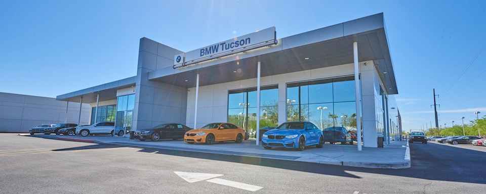 Exterior view of BMW of Tucson