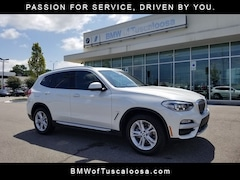 New 2019 BMW X3 sDrive30i SAV for sale in Tuscaloosa