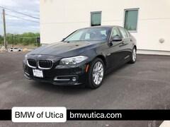 Used 2016 BMW 5 Series Car Utica NY