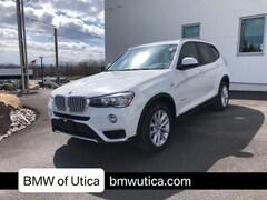 Used 2016 BMW X3 Sport Utility Utica NY