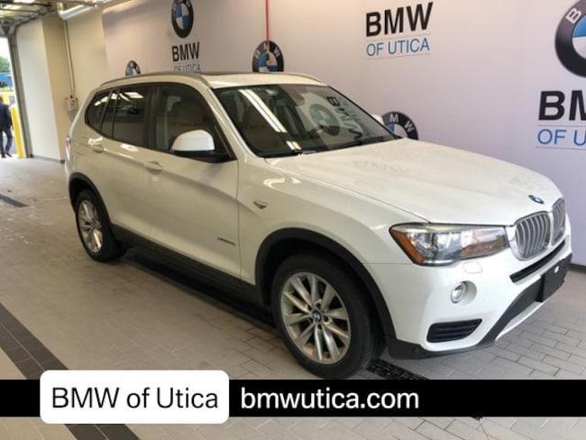 2016 BMW X3 Sport Utility