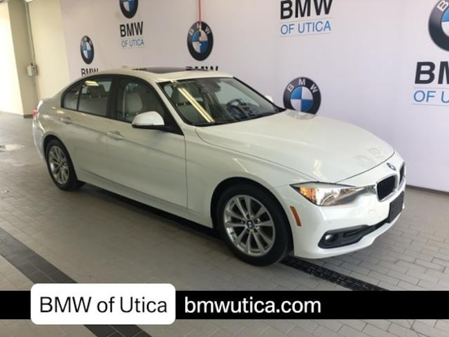 2016 BMW 3 Series 4dr Sdn 320i Xdrive AWD Car