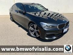 Used 2017 BMW 740i Sedan Sedan for sale in Visalia CA