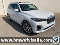 New 2020 BMW X7 xDrive40i SAV for sale in Visalia CA