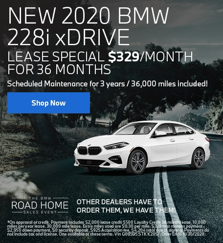New 2020 BMW 228i xDrive