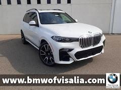 New 2021 BMW X7 xDrive40i SAV for sale in Visalia CA