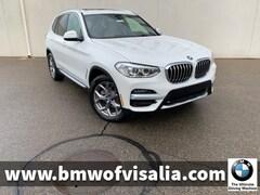 New 2020 BMW X3 sDrive30i SAV for sale in Visalia CA