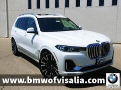 New 2019 BMW X7 xDrive40i SUV for sale in Visalia CA