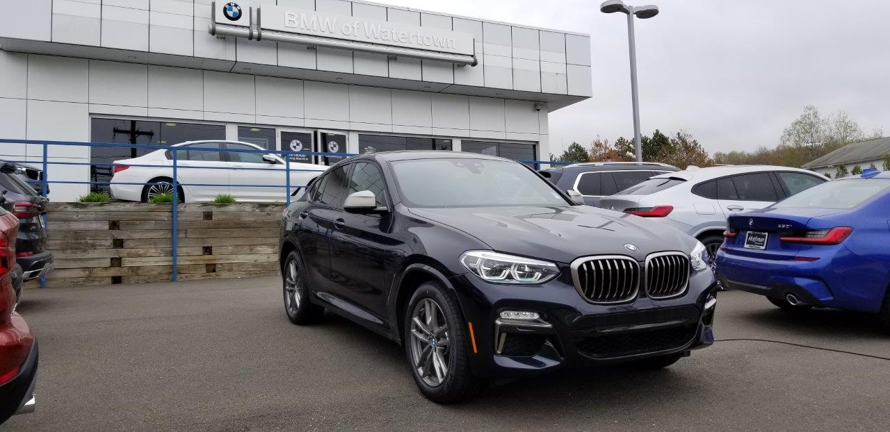 New 2019 BMW X4 M40i Sports Activity Coupe in Watertown CT