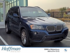 Certified Used 2014 BMW X3 xDrive28i SAV 5UXWX9C55E0D32302 in Watertown, CT