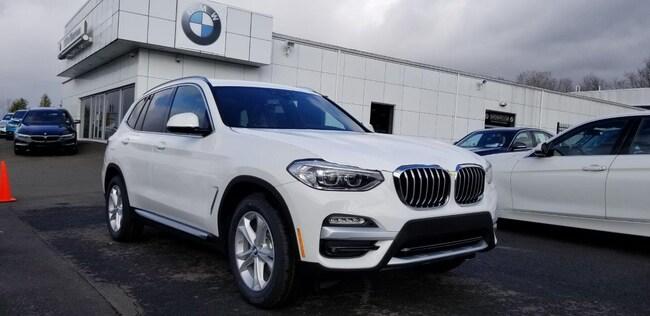 New 2019 BMW X3 xDrive30i SAV in Watertown, CT
