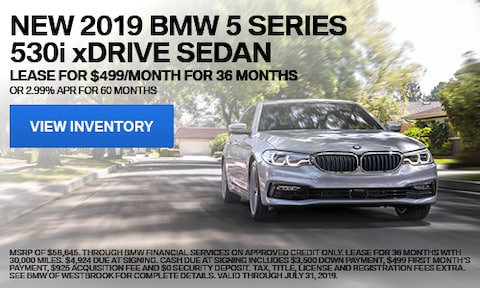 New 2019 BMW 5 Series 530i xDrive Sedan - July '19
