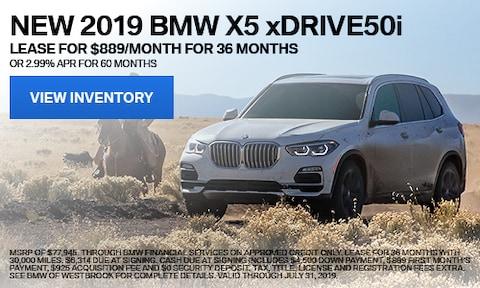 New 2019 BMW X5 xDrive50i - July '19